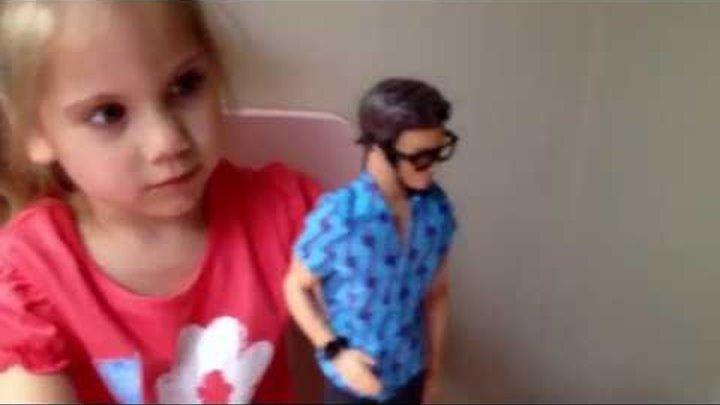 обзор куклы Кен из серии Барби и Команда шпионов / Ken inventor (Barbie Spy Squad)