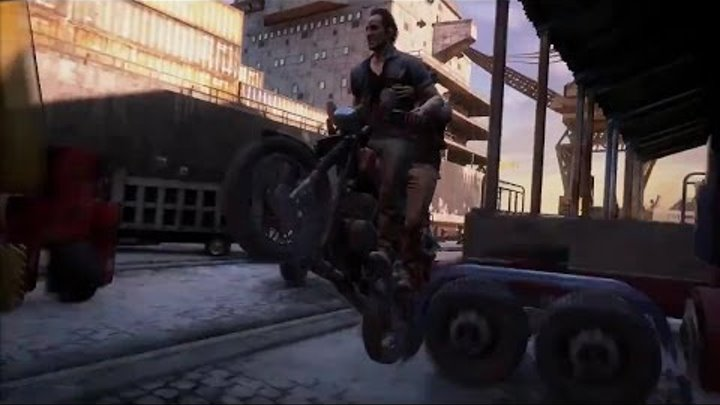 Uncharted 4 (в правильном переводе Гоблина) - 14-ть минут трейлера с Е3.