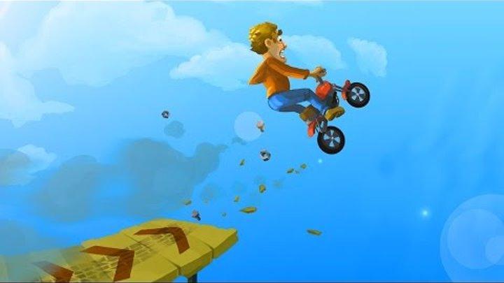 Игровой мультик про машинки и мотоциклы для детей. Игра как мультик про Мотоциклы - Fail Hard