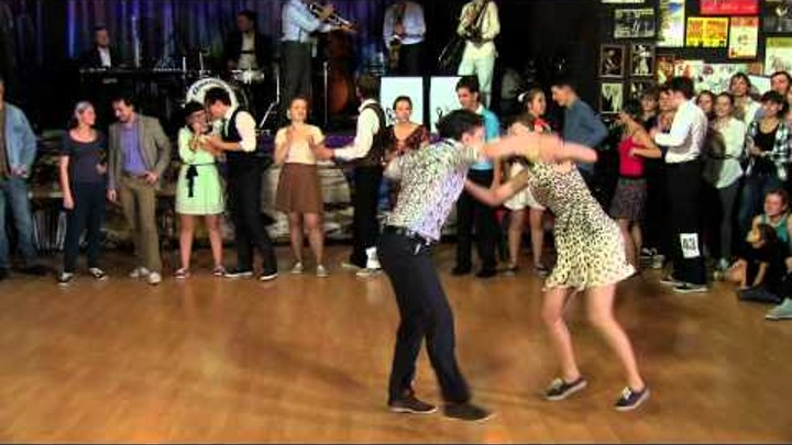 Sultans of Swing 2013 - Lindy Hop Open Strictly - Final Jam