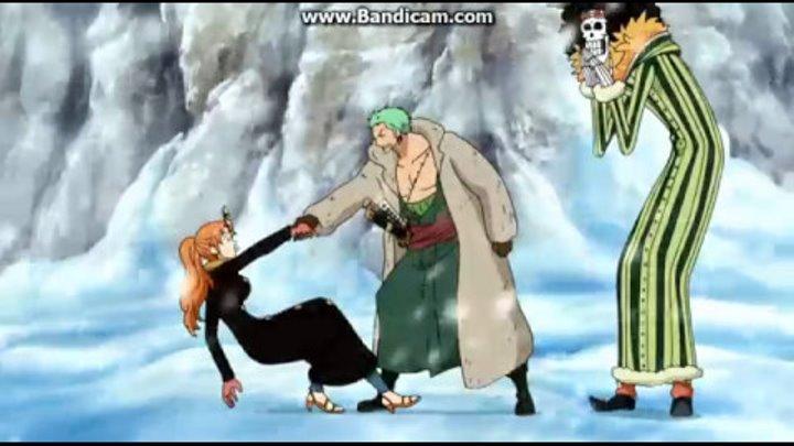 Смешной момент из аниме Ван Пис #035