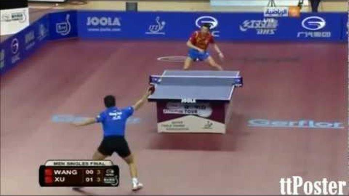 Qatar Open 2012: Xu Xin-Wang Hao