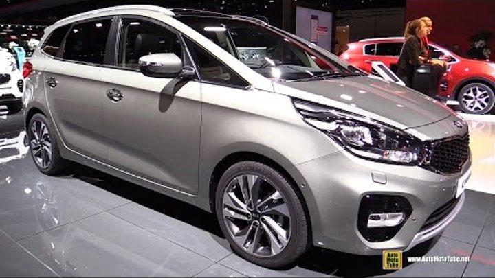 2017 Kia Carens 1.7 Diesel - Exterior and Interior Walkaround - 2016 Paris Motor Show 2