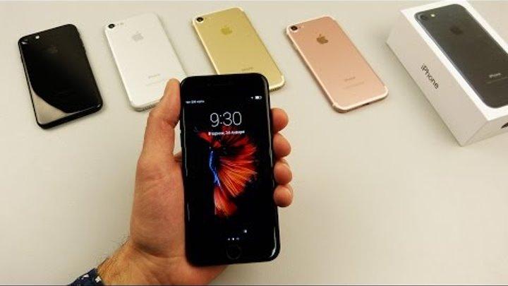 Китайский iPhone 7 с РАБОЧИМ Touch ID! На 8 ядер, реально? Точная копия айфона 7 с темным дисплеем!