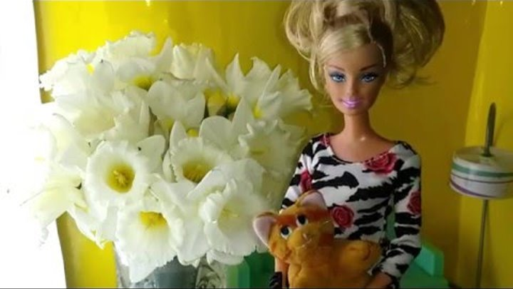 Видео для девочек про кукол. Барби - дом мечты знакомство