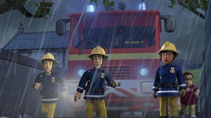 Пожарный Сэм на русском   Гроза 🚒1 час Компиляция   Новые серии HD 🔥мультфильм