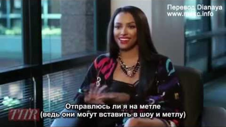 Дневники Вампира - 5 сезон, интервью Кэт Грэхэм (rus sub)