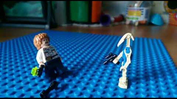 Звездные войны Лего,дроид разведчик(моя 1-я анимация)