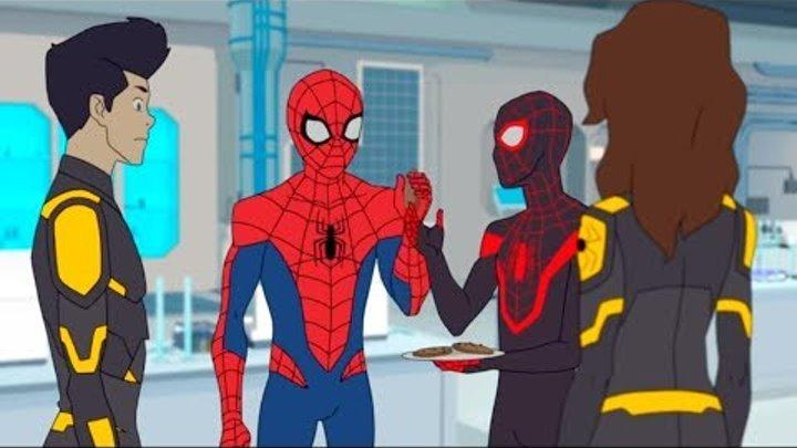 Marvel | Человек паук 2017 | сезон 1 серия 24 - Паучий остров. Часть 5