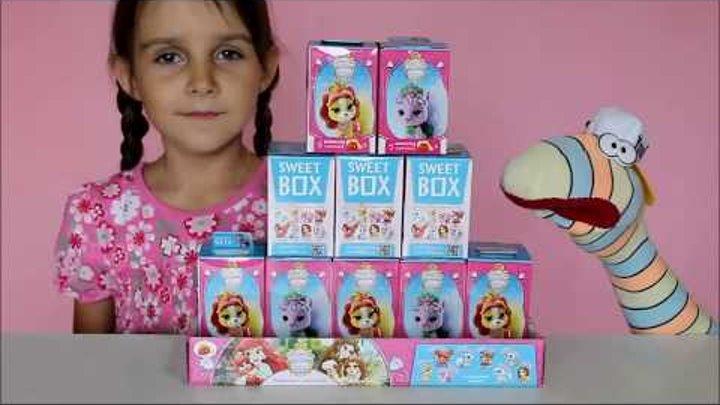 Дисней Королевские питомцы ПОЛНАЯ коллекция игрушек СВИТБОКС DISNEY Palace Pets Princesses