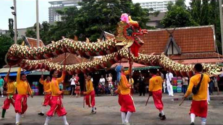 Вегетарианский фестиваль в Паттайе. Vegetarian Festival in Pattaya