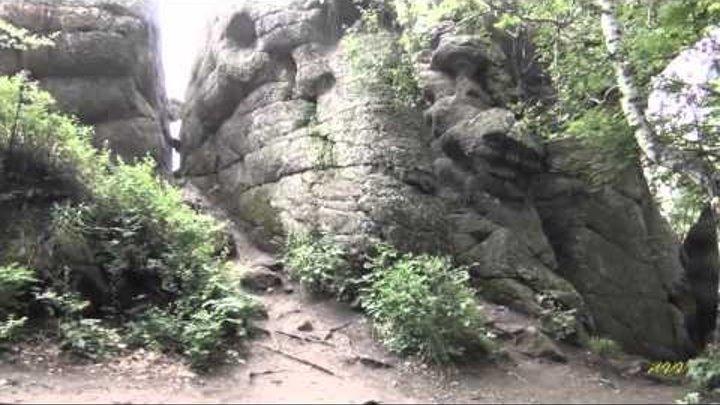 Гора Церковка. Поэма в камне.