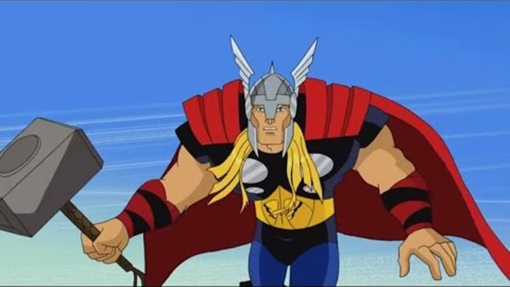 Мстители: Величайшие герои Земли - Побег. Часть вторая - Сезон 1, Серия 2