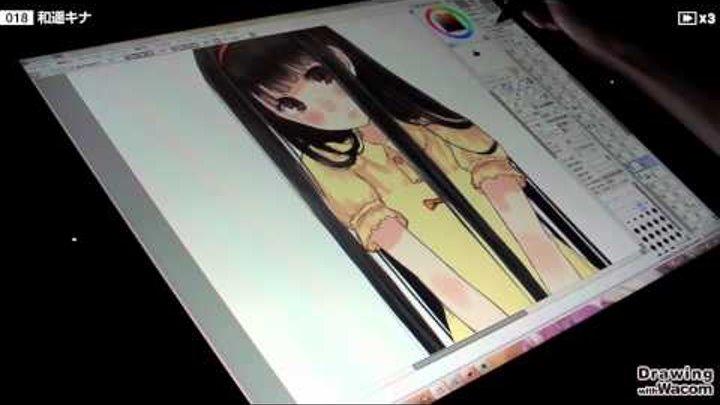 イラストレーター和遥キナ Live Painting