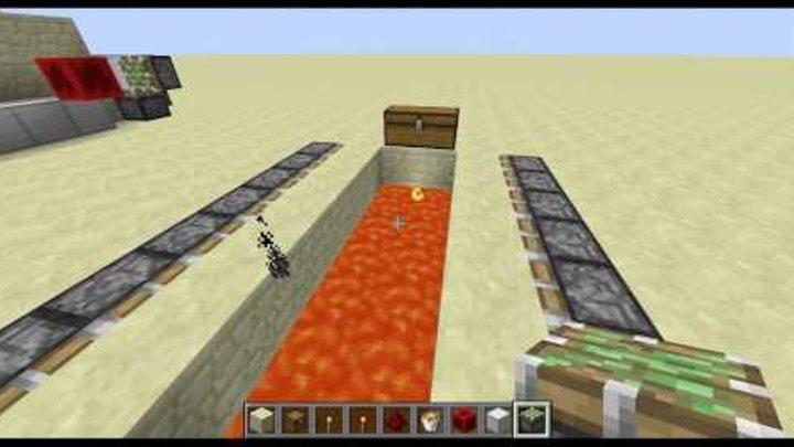 Самые интересные механизмы в Minecraft![Ловушка от грифера][Сезон 2 EXTENDED]