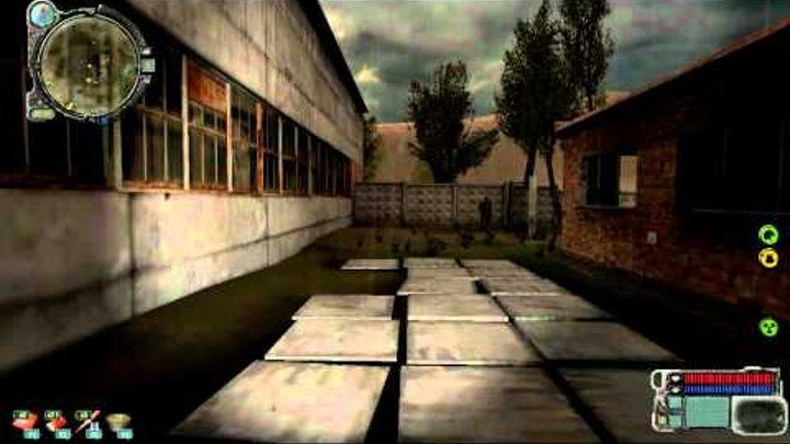 Stalker call of pripyat Инструменты на затоне №1