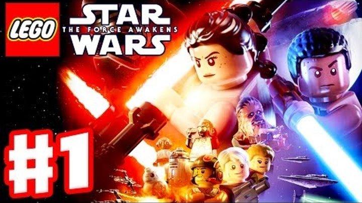 Мультик Игра Лего Звездные Войны.Битва при Эндоре. Часть №1 #Лего