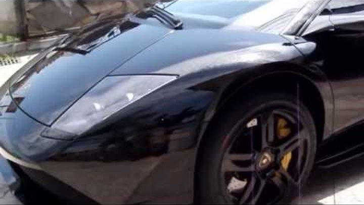 2007 Lamborghini Murciélago LP640 Coupe Test Drive With Loud Revs & Takeoff - 1080p HD