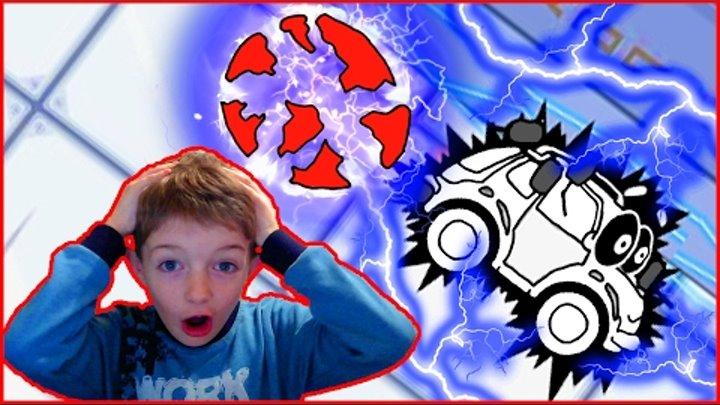 Машинка Вилли Wheely. Мультик-игра для детей про красную машинку 1-2