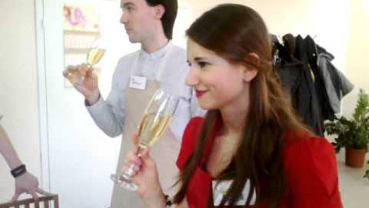 """Франция. Вино. Шампанское. Веррины. Мастер- класс в """"Anetti"""""""