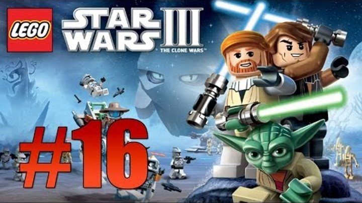 Lego Star Wars 3: The Clone Wars - Ch. 5 Weapons Factory (Count Dooku) - Part 16