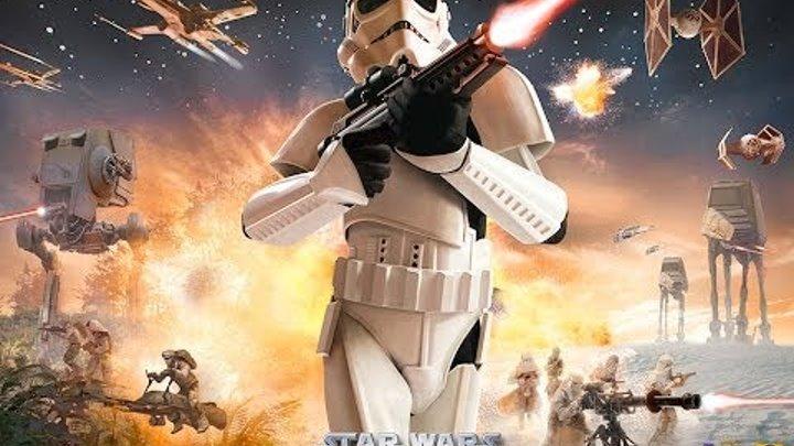 Прохождение Star Wars Battle front одиночная игры компания войны клонов