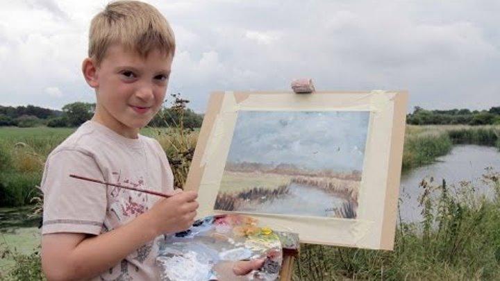 """Kieron Williamson, el """"mini Monet"""""""