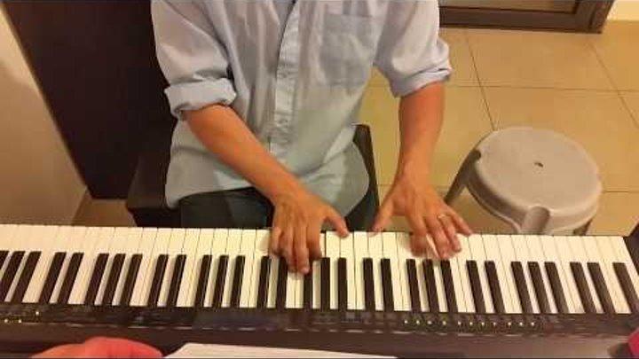 Cambio Dolor Natalia Oreiro - пианино с листа. Piano Cover Дикий ангел Наталья Орейро кавер
