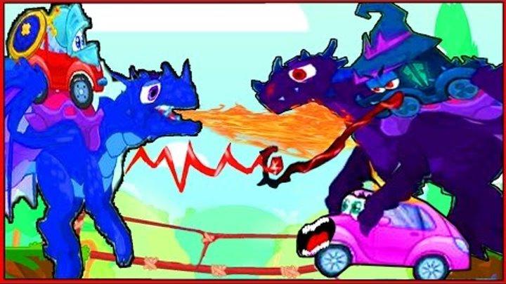 Вилли Wheely Мультик мультфильм игра для детей малышей про красную машинку часть 6