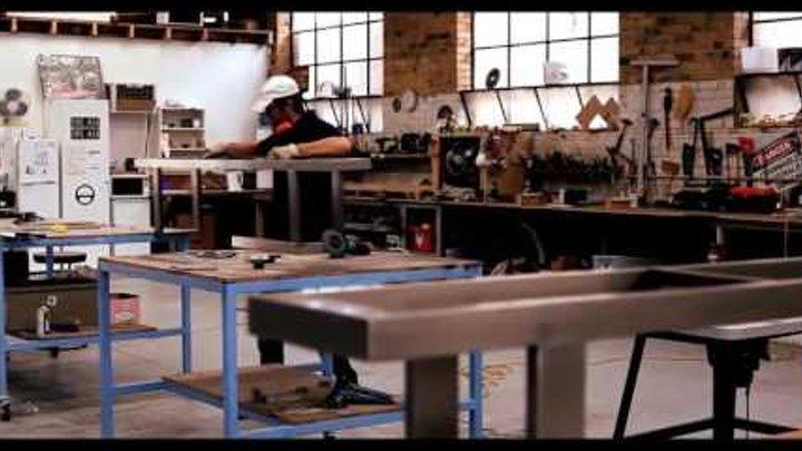 Как сделать стол в стиле лофт?/ Мебель в стиле лофт от Alisio