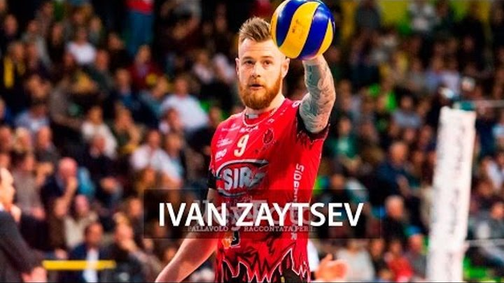 King Ivan Zaytsev | Best Volleyball Actions (Perugia)