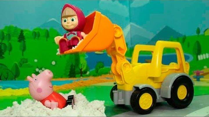 Мультики для детей все серии подряд! Пеппа Маша и Медведь все серии подряд без остановки новые серии