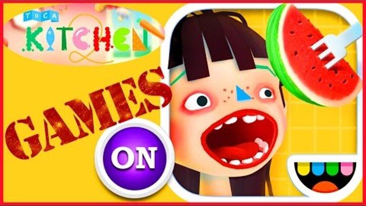 Toca Kitchen 2 2016 Видео игра для детей мультики дети и родители прохождение игры моды андроид