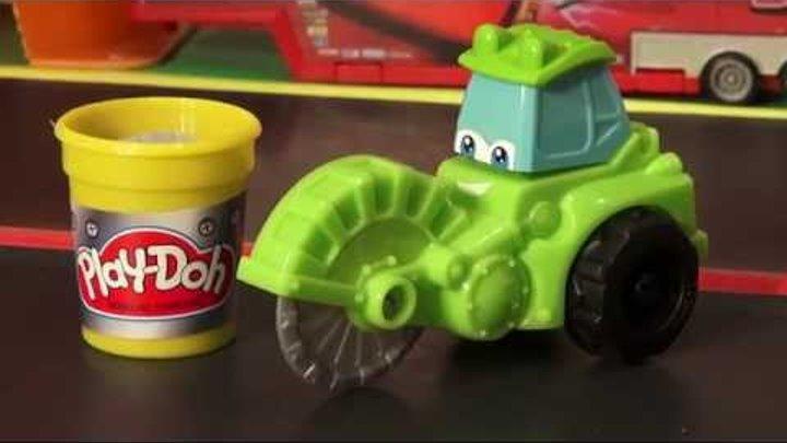 Play-Doh Diggin' Rigs Chip in Pixar Cars Radiator Springs