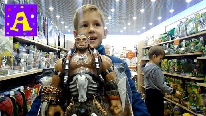 Магазин игрушек ВАРКРАФТ герой игры ДУРОТАН Toy store WARCRAFT hero games DUROTAN