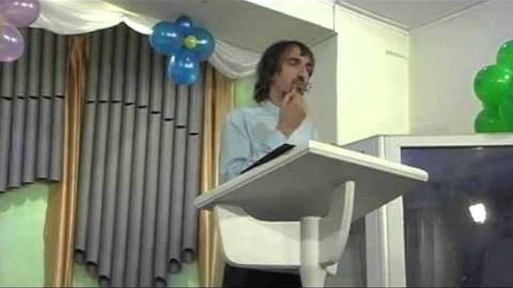 2015 07 12 Igor Andreykin тема победа Христа над силами тьмы