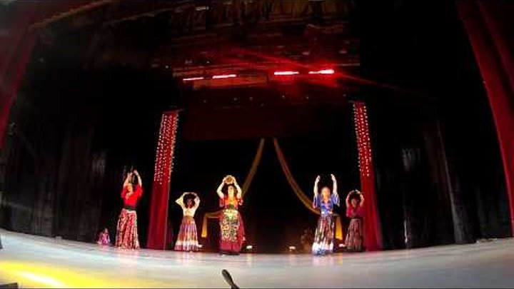 """1 место, шоу, студия """"Sunrise"""" на конкурсе ЛИГИ Профессионалов восточного танца"""