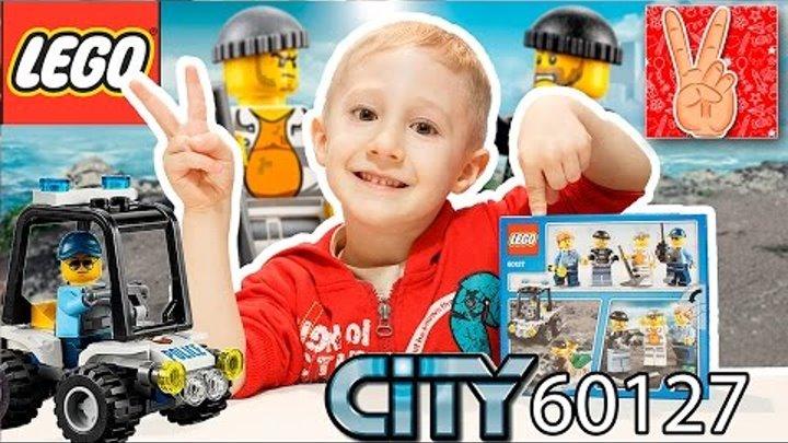 LEGO CITY 60127 | Лего сити Остров Тюрьма обзор с Vladislav Time