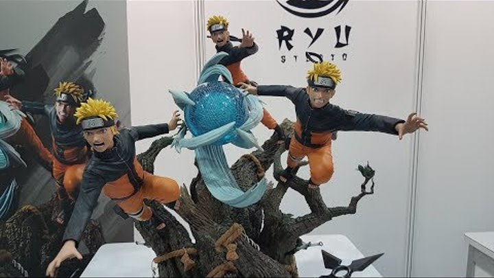 Ryu Studios Naruto Uzumaki 1/6 Scale Statue STGCC 2017