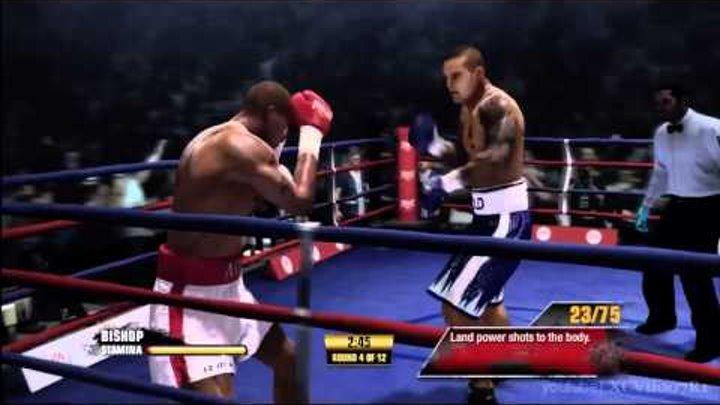 Fight Night Champion - Champion Mode Walkthrough (Part 16) - Isaac Frost Fight (part 1 of 2)