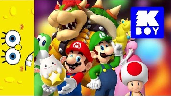 Супер Марио - коллекция мини игрушек - новые Герои Супер Марио из МакДональдс - Хэппи Мил