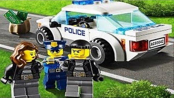 Лего полиция-Полицейская и Пожарная Машина-Мультфильм об игре Лего Лего Мой город 2 Super Транспорт