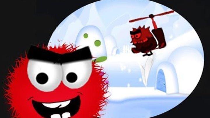 Red BALL. Приключение КРАСНОГО шарика Вито зимой. Мультик Игра для детей