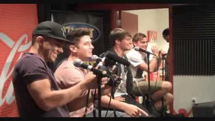 Big Time Rush On 97.1 ZHT - Part 1