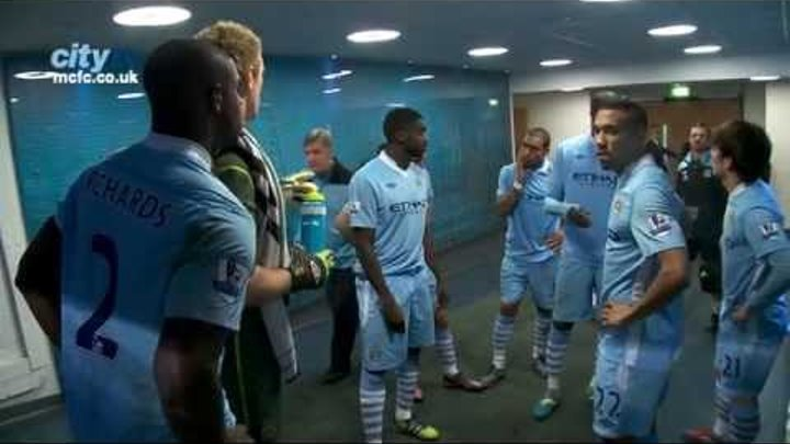 TUNNEL CAM: City v Chelsea 2011/12 Behind the scenes at at the Etihad Stadium