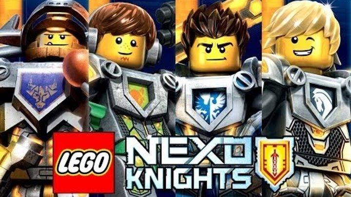 Мультик Игра Лего Рыцари Нексо.Битва с Фламой .Часть №12#Лего