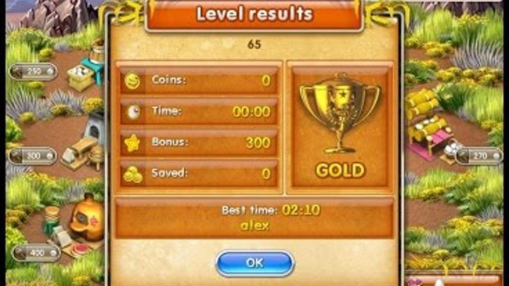 Farm Frenzy 3 American Pie (level 65) only GOLD Веселая ферма 3 Американский пирог Уровень 65 Золото