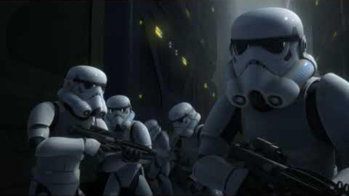 Звёздные войны: Повстанцы - Одинокий дроид - Star Wars (Сезон 2, Серия 19)