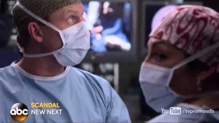 Анатомия страсти 12 сезон 18 серия - Есть тонкая, тонкая грань русское промо, дата выхода, озвучка