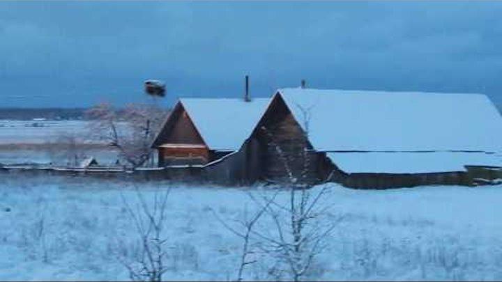 23 Рассвет в январе / супер рассвет / зима в деревне / село / жизнь в деревне / из города в деревню